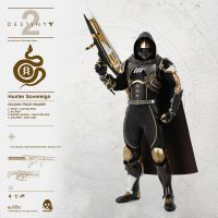 Hunter Sovereign (Golden Trace Shader) 1:6 figure Threezero 907067