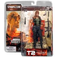 Terminator 2 Judgement Day Sarah Connor 7 inch figure Spawn Movie Maniacs Series 5 McFarlane