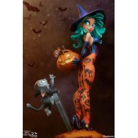Pumpkin Witch Statue Sideshow Collectibles 300754