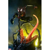 Spider-Man Miles Morales Premium Format Figure Collector Edition Sideshow Collectibles 300554