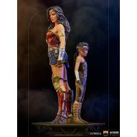 Wonder Woman & Young Diana 1:10 Statue Iron Studios 906714