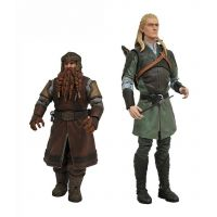 Lord of the Rings Deluxe 7-inch Action Figures Series 1 Set Diamond Select
