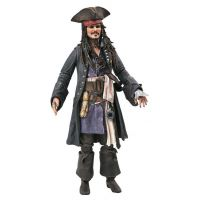 Pirates of the Caribbean Deluxe Jack Sparrow 7-inch Action Figure Diamond Select