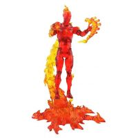 Marvel Select Human Torch 7-inch Action Figure Diamond Select