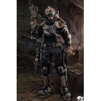Exo-Skeleton Armor Suit Test-01 1:6 scale action figure Soldier Story SS122