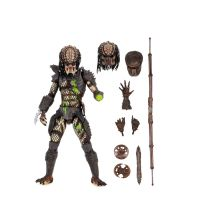 Predator 2 Ultimate Battle-Damaged City Hunter 7-inch Scale Action Figure NECA 51428