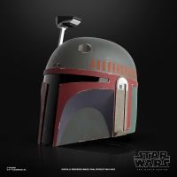 Star Wars The Black Series Boba Fett (Re-Armored) Premium Electronic Helmet Hasbro