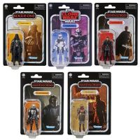 ​​Star Wars The Vintage Collection Wave 12 Set of 5 Figures (Darth Vader Rogue One, Captain Rex, Moff Gideon, The Armorer, The Mandalorian Beskar) Hasbro