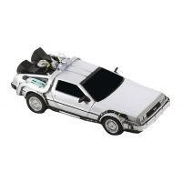 Back To The Future Die-Cast 1/16 Scale Replica With Working Doors NECA