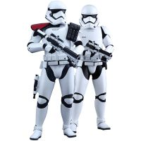 First Order Stormtrooper Officer and Stormtrooper