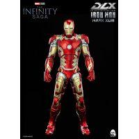 Iron Man Mark XLIII (MK 43) 1:12 Scale Collectible Figure Threezero 907534