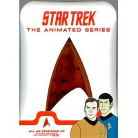 Star Trek The animated series (22 episodes) 4 DVD pack Paramount