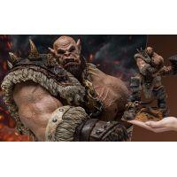 World of Warcraft Orgrim Epic Series Warcraft 1/9 Scale 10-inch Statue Damtoys 905395