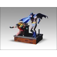 Silver Age Batman and Robin Statue (2006) DC Direct