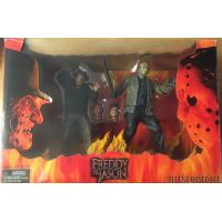 Freddy VS Jason Ensemble de luxe de 2 figurines (2004) NECA