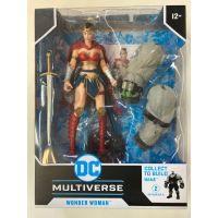 DC Multiverse 7-inch Action figure Batman Last Knight on Earth BAF Bane - Wonder Woman McFarlane Toys