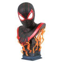 Marvel Gamerverse Miles Morales 1:2 Scale Bust Legends in 3D 84324