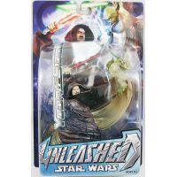 Star Wars Unleashed Yoda VS Sidious 7-inch figure (2005) Hasbro