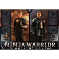 Double suit Ninja Warrior 1:6 scale 2-pack action figures Present Toys PT-SP17