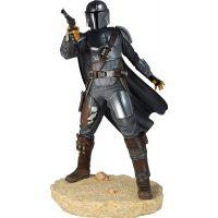 Star Wars Premier Collection The Mandalorian (Beskar Armor) 1/7 Scale 10-inch Diamond Select Toys Gentle Giant