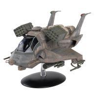 Battlestar Galactica Ships Mag #20 Heavy Raptor EagleMoss
