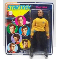Star Trek Original TV Series Kirk 8-inch poseable figure (1974) MEGO 51200/1