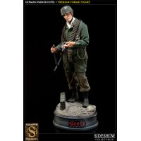 Battle of Crete: German Paratrooper Premium Format Figure Sideshow Collectibles 300008