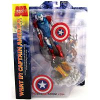 Marvel Select What If Captain America in Iron Man Armor 7-inch figure Diamond