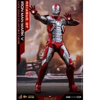 Iron Man Mark V - 1:6 Scale Diecast Figure Hot Toys 907514