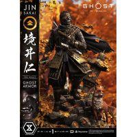 Jin Sakai, The Ghost (Ghost Armor Edition) 1:4 Scale Statue Prime 1 Studio 907493