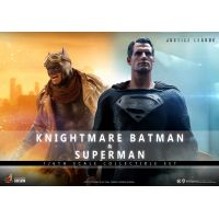 Knightmare Batman and Superman 1:6 Scale Figure Set Hot Toys 908013