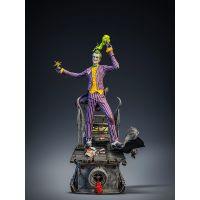 The Joker Arkham Asylum 1:8 Scale Polystone Statue Silver Fox Collectibles 907553