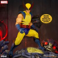One-12 Collective Wolverine Figure Deluxe Steel Box Edition Mezco 76536