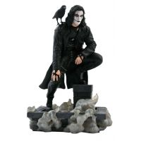 The Crow (Rooftop) Gallery 10-inch Diorama Diamond 84209