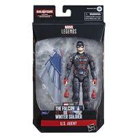 Marvel Legends Series US Agent Figurine échelle 6 pouces (BAF Captain America Équipement de vol) Hasbro