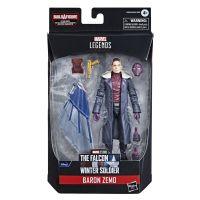 Marvel Legends Series Avengers Baron Zemo Figurine échelle 6 pouces (BAF Captain America Équipement de vol) Hasbro