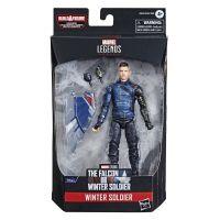 Marvel Legends Series Winter Soldier Figurine échelle 6 pouces (BAF Captain America Équipement de vol) Hasbro