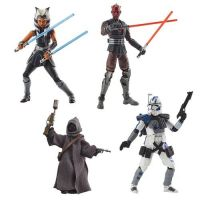 ​​Star Wars The Vintage Collection 3.75-inch Set of 4 Figures (Ahsoka, Jawa Off World, ARC Trooper Echo, Darth Maul) Hasbro