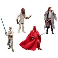 "​​Star Wars The Vintage Collection 3.75-inch Set of 4 Figures New Edition ""Re-Issue"" (Luke Skywalker Hoth. Han Solo Endor, Royal Guard, Admiral Ackbar) Hasbro"