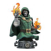 Doctor Doom Marvel Comic Mini-Bust 6-inch Diamond Toys Select
