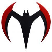 Batman Beyond Metal Batarang Replica Ikon Design Studio 908403