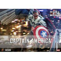Captain America (Sam Wilson) Figurine Échelle 1:6 Hot Toys 908266