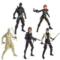 GI Joe Classified Series 6-Inch Figures Wave 6 Set of 5 Figures Hasbro