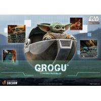 Grogu 1:6 Scale Figure Set Hot Toys 908288