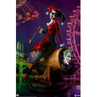 Harley Quinn and The Joker Diorama Sideshow Collectibles 200575