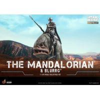 Mandalorian & Blurrg 1:6 Scale Figure Set Hot Toys 908287