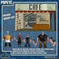 Popeye Deluxe Boxed Set Mezco toyz 18060
