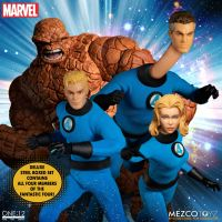 One:12 Collective Fantastic Four - Deluxe Steel Boxed Set Mezco Toyz 77600