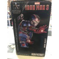 Iron Man 3 Iron Patriot 1:6 scale mini-bust Amazon exclusive Gentle Giant 80320