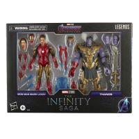 Marvel Legends Series Iron Man Mark 85 vs Thanos Figurines échelle 6 pouces Hasbro